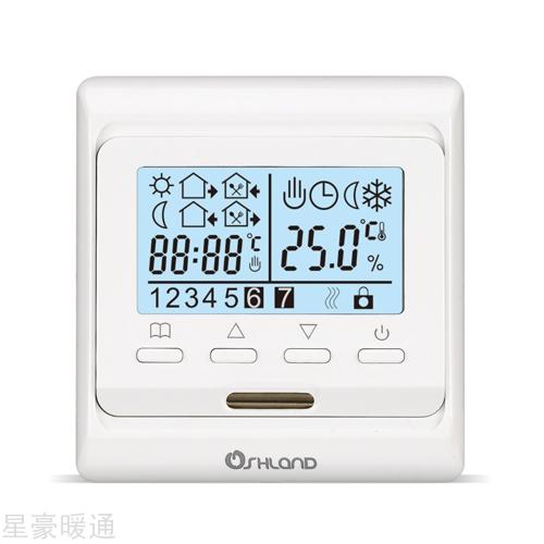 M6液晶数显周编程采暖温控
